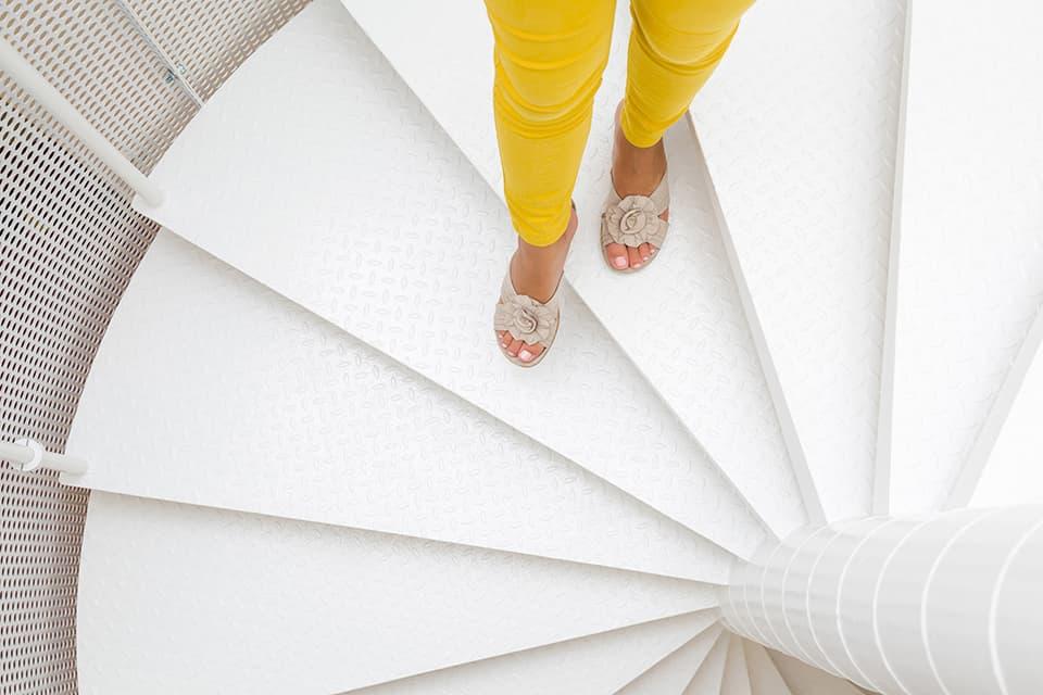 螺旋階段のデメリット