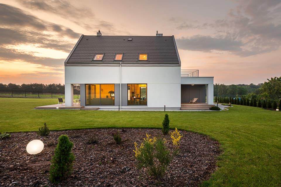 かっこいい家の外観イメージ