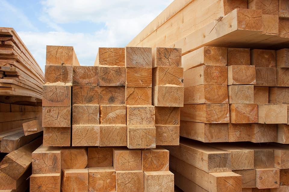 木造住宅の木材のイメージ